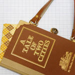 A Tale of Two Cities Novel Bag - Charles Dickens - Bag made from a book