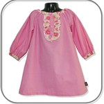Girls Long Sleeve Winter Dresses - Available in a range of Colours and Sizes