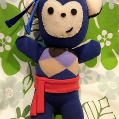 "Charlie ""Kun fu monkey""Sock toy softie"
