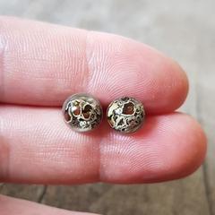 Coastal Cup Lichen Earrings