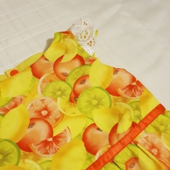 Citrus fruit romper/play suit- size 0