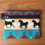 Coin Purse - Tribal Horses