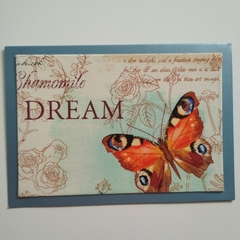 Blank Greeting Card - Dream, Butterfly - Wedding