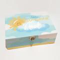 Our Little Sunshine Keepsake Memory, Trinket, Jewellery, Wooden, Baby Box