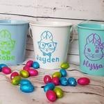 Personalised Easter Bucket - PURPLE