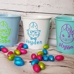 Personalised Easter Bucket - YELLOW