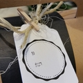 Hand-Stamped Gift Tag (Small)