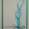 Blank Greeting Card - String painting art - All Occasions Card