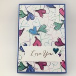 Love You card, Valentine's Day/ Anniversary