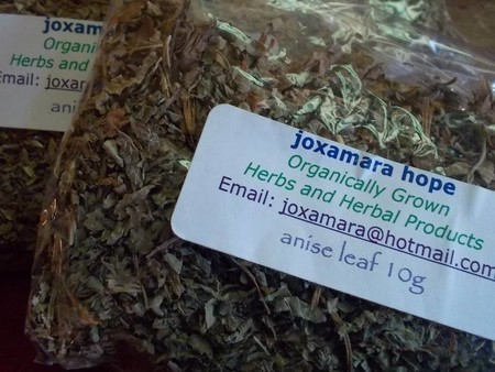 Dried anise mint leaves Agastache Foeniculum 10g