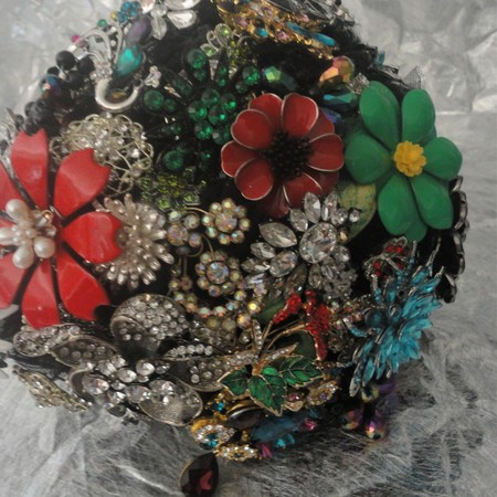 Brooch Bouquet one off