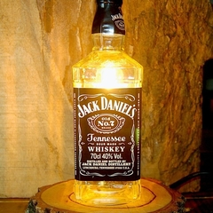 Jack Daniels  No.7 Bottle Lamp - Perfect Gift for Xmas