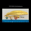 BIRTHDAY WISHES - gold colour bookmark