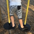 Size 0 baby boys knee length Harem Shorts
