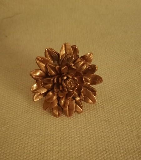 Desert Sunflower Adjustable Ring