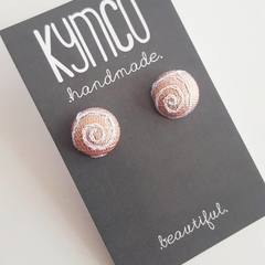 Swirls Earrings - stud