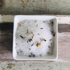 Bath Salts 'Dreamy' Lavender + Chamomile Blend. Unwind. Destress. Relax. Vegan.