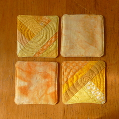 FABRIC COASTERS - SETS OF 4