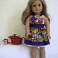 APRON FOR 46cm (18 in) DOLL OR TEDDY