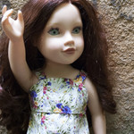 DRESS FOR A SLIM 46cm (18in) DOLL