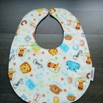Waterproof ABC Baby Adjustable Dribble Bib