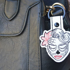 Sugar Skull Lady Embroidered 