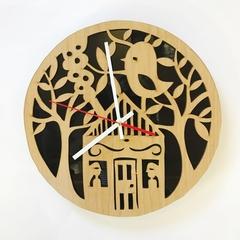Bird House Clock