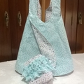 Reversible Sun Dress with matching Fancy-pants