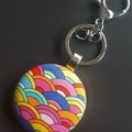 Bag tag/key ring - Rainbows and more