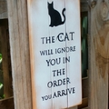 The Cat Will Ignore You