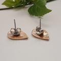 Ruby Raindrop Stud Earring