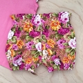 Choose your size 000-2 Bubble Shorties - Bloomers - Retro - Floral