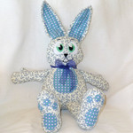 Billie and Beau, the bunny twins, softie, rabbit, child's gift