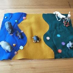Habitat and Colour sorting mat b