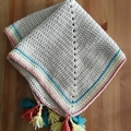 Boho Style Baby Blanket