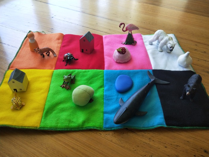Habitat and Colour sorting mat A   Escapades in Play on Madeit