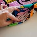 Gossip Girl Pop Art Skater Girl Skirt with Pockets