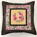 Australiana cushion cover - Pink Heath'
