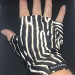 Sunglove: sun protection, fingerless, palmless, for golf, Simply Joolz