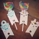 Personalised Easter Pencil/Lollipop Tags - set 12