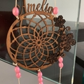 Personalised Lasercut Dream Catchers