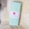 XL Flannelette baby blanket / wrap - Mint
