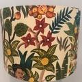 Frida's Garden Fabric Drum Lampshade