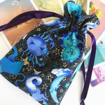 Astrology Tarot Bag Rune stones and crystal pouch