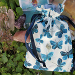 Butterfly Tarot and Oracle card bag Rune and Crystal pouch