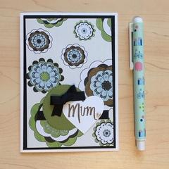 Mother's Day / Mum birthday  Handmade Card