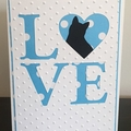 Mother's Day / Anniversary / Birthday Love Card for Cat lover - free postage
