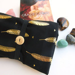Black and Gold Tarot Card Wrap Cloth