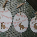 Bunny Tags ~ New Baby Tags ~ First Easter Gift Tags