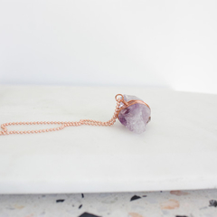 Amethyst  Wire Wrapped Crystal